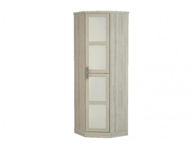 Белый шкаф угловой Парма